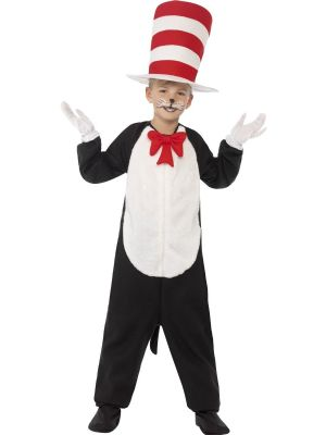 Boy's Fancy Dress | Cat in the Hat Costume